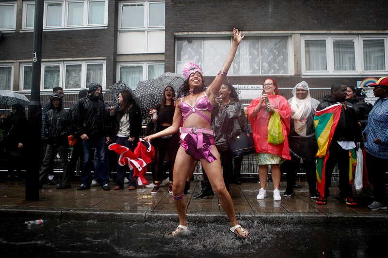 The Annual Notting Hill Carnival Celebrations 2014